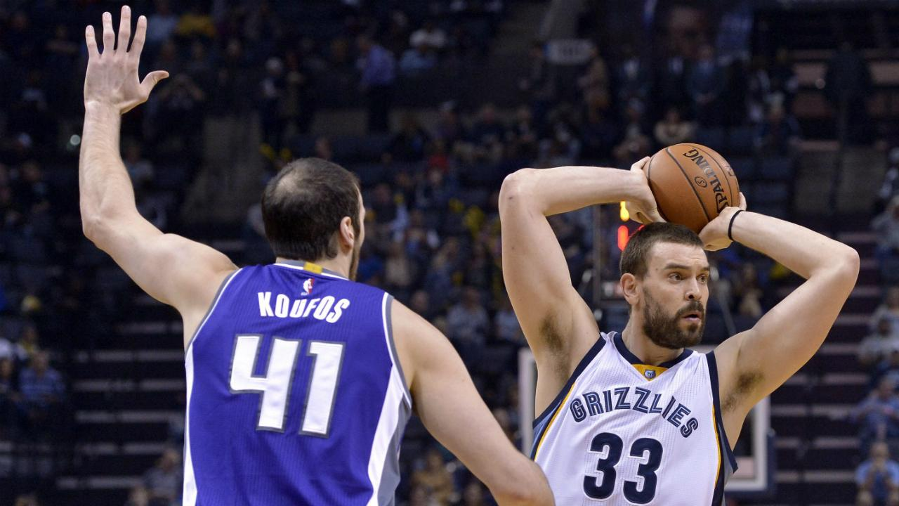 Gasol's game-high 28 lead Grizzlies past Kings